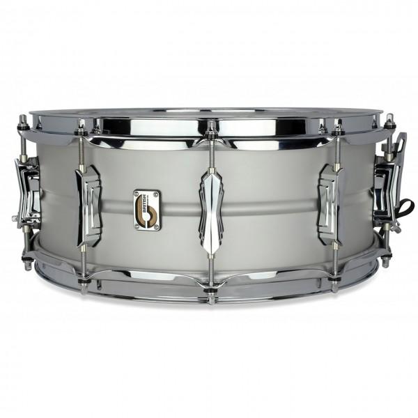 """British Drum Co. 'Aviator' 14"""" x 6.5"""" Aluminium Snare Drum"""