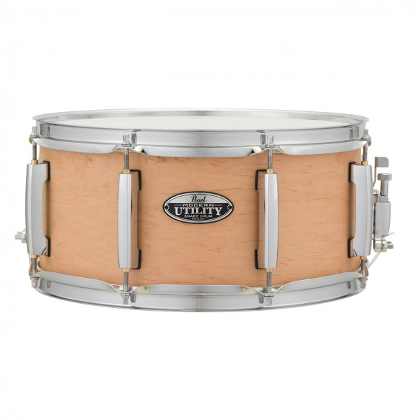 "Pearl Modern Utility 14"" x 6,5"" Maple Snare Matte Natural"