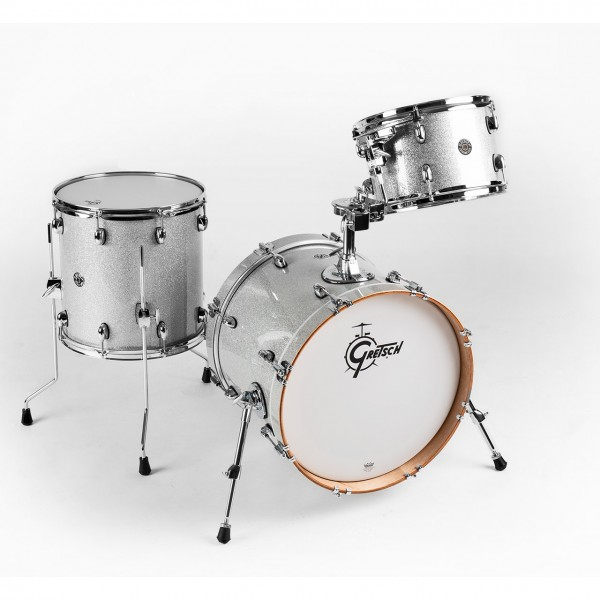 Gretsch Catalina Club Jazz in Silver Sparkle Limited Edition