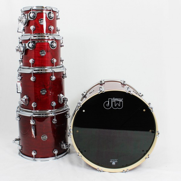 DW Performance Cherry Stain 5-Piece Shellset