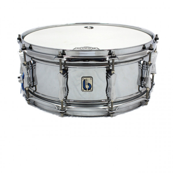 "British Drum Co. 'Bluebird' 14"" x 6"" Messing Snare Drum"