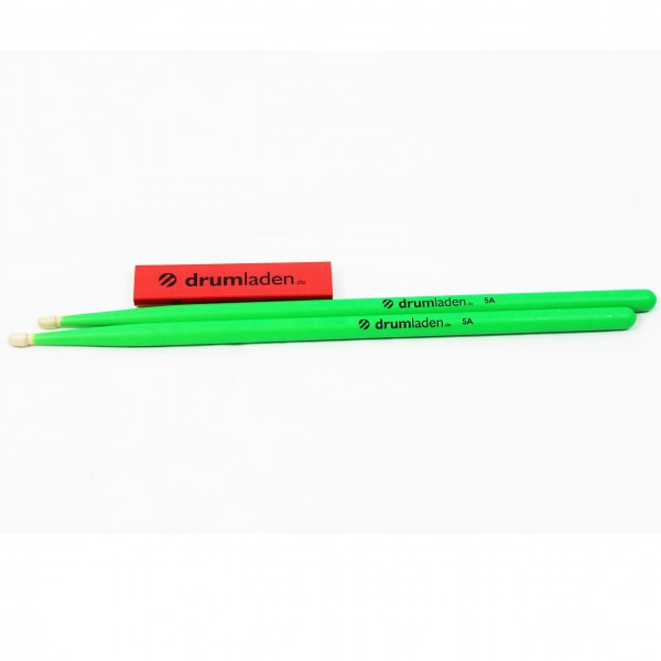 Drumladen Sticks 5A grün