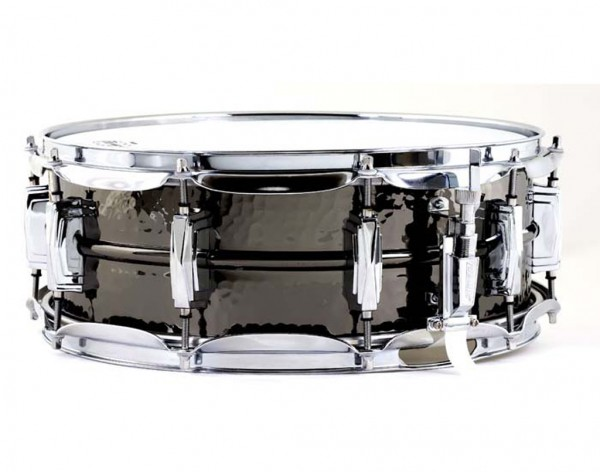 "LUDWIG Snare Drum LB416K 5x14"" Black Beauty, Hammered Shell, Imperial Lugs"