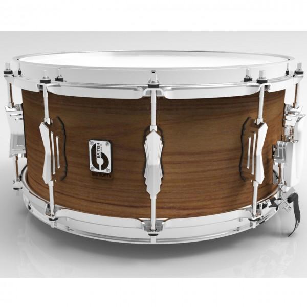 """British Drum Co. 'Big Softy' 14"""" x 6,5"""" Pro Snare Drum"""