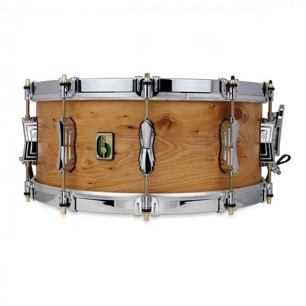 """British Drum Co. 'Archer' 14"""" x 6"""" Eibenholz Snare Drum"""